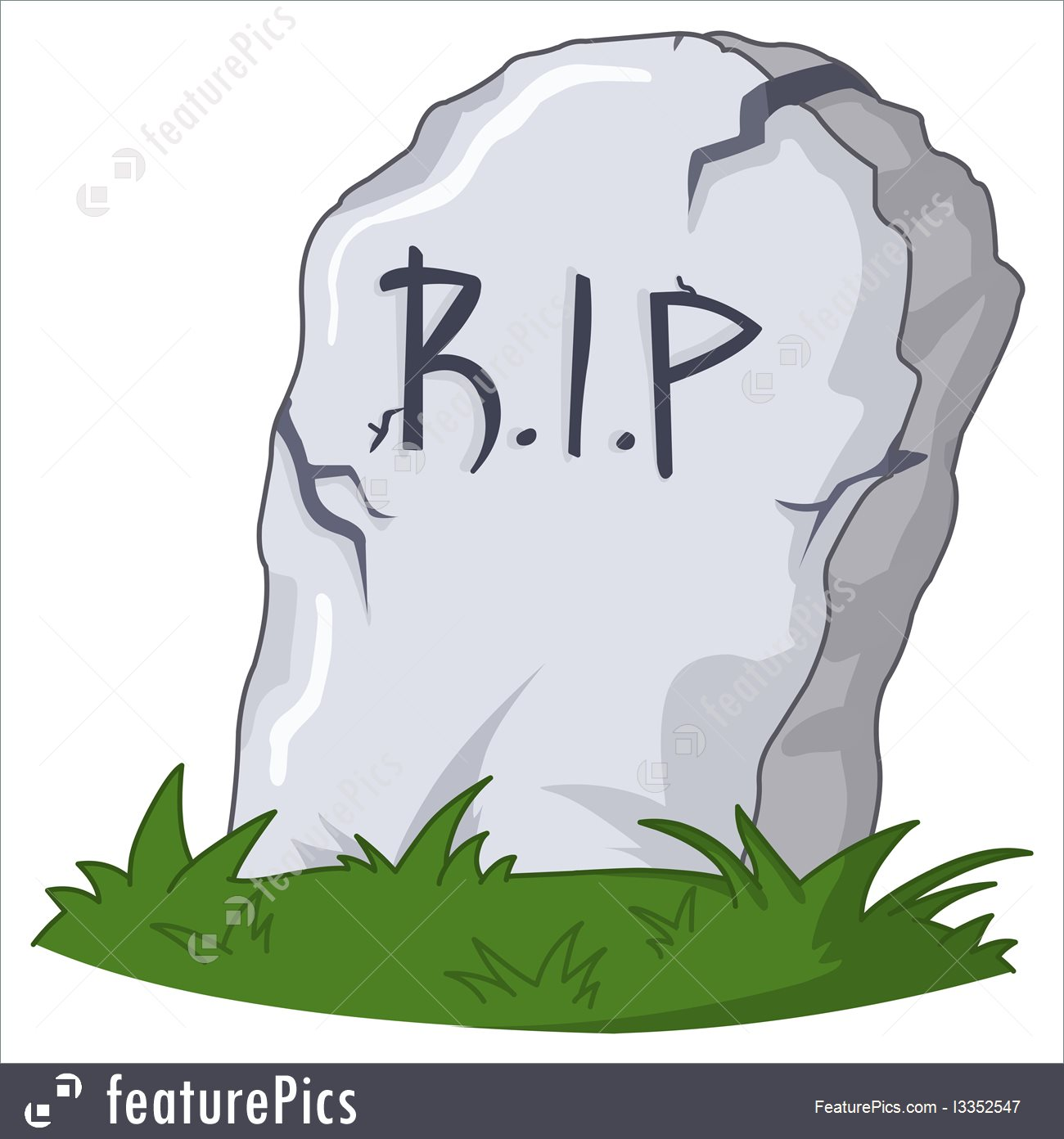 1300x1392 Illustration Of Grave