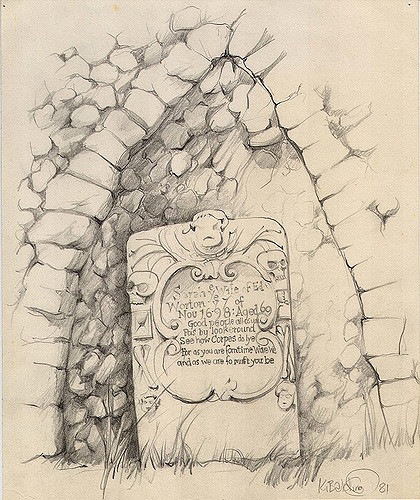 420x500 Drawing Bury St Edmunds Gravestone.jpg Keith Balding