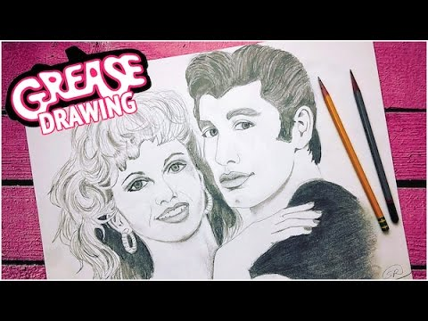 480x360 Drawing Grease Movie Poster (2016)