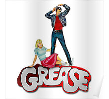 220x200 Grease Posters By Ottenart Redbubble