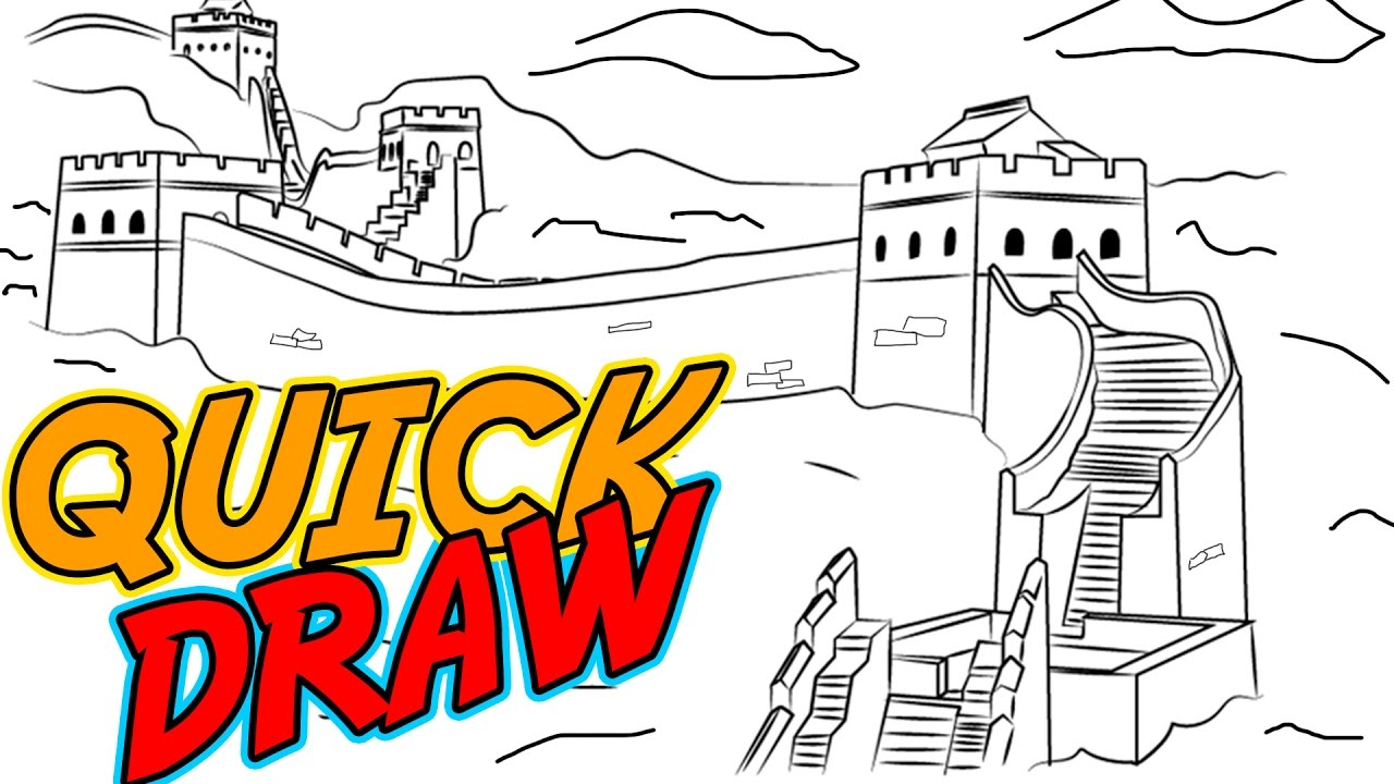 great wall of china drawing at getdrawings com free for personal rh getdrawings com  great wall of china drawing clipart
