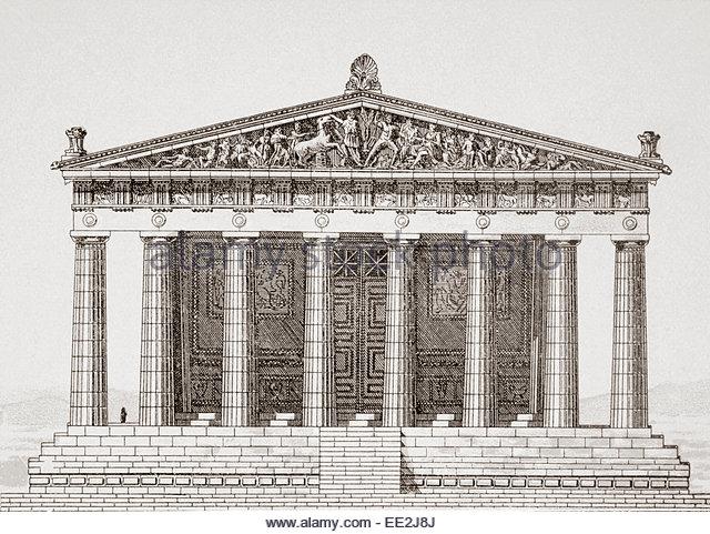 Greek Architecture Drawings Greek Architecture Dra...
