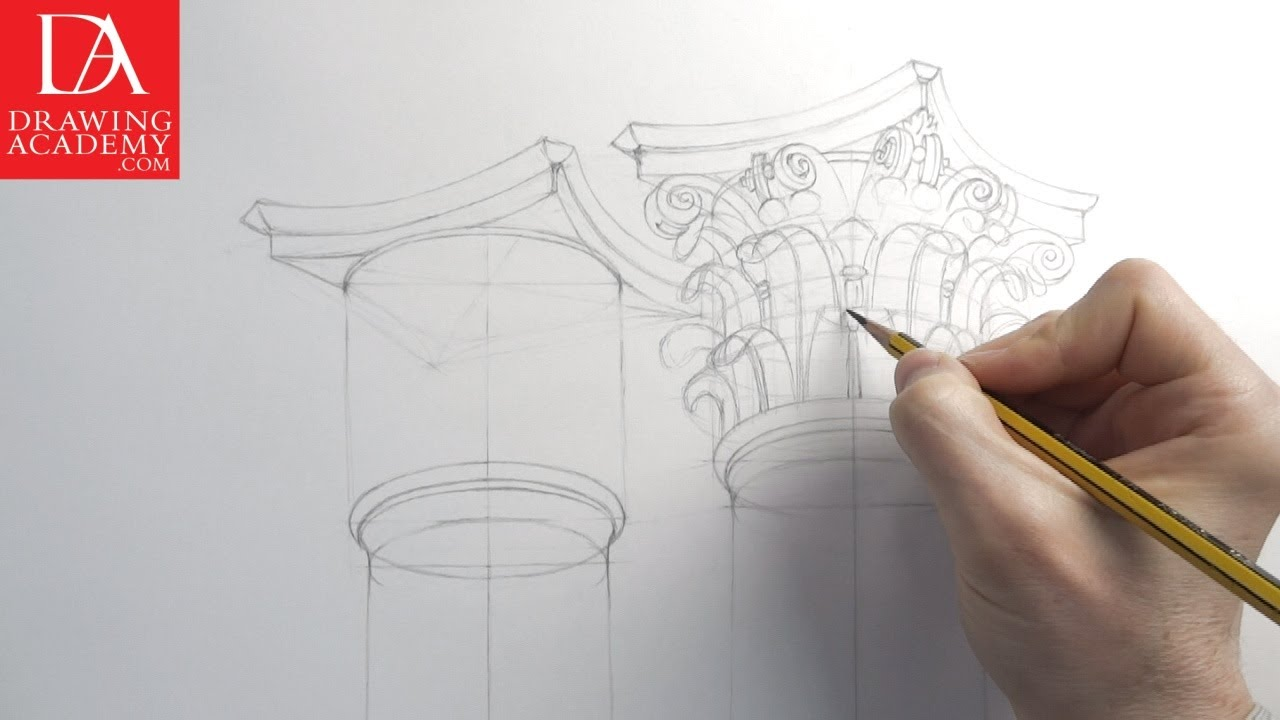 1280x720 Architecture Drawings Presented By Drawing Academy Com 23 2