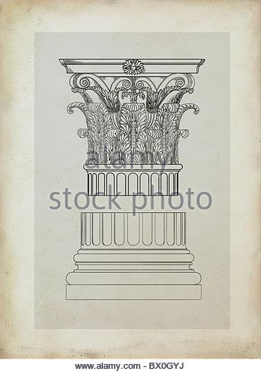 378x540 Classical Column Drawing Stock Photos Amp Classical Column Drawing