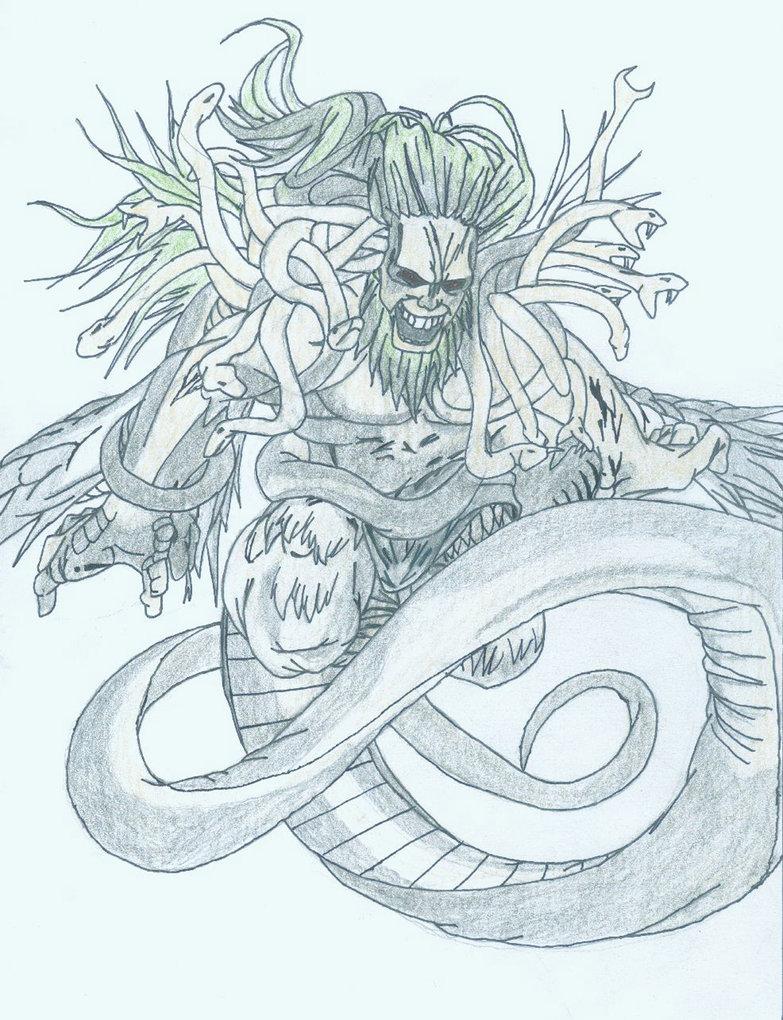 783x1020 Demon Typhon Of Greek Mythology By Thrashmaniacwarrior