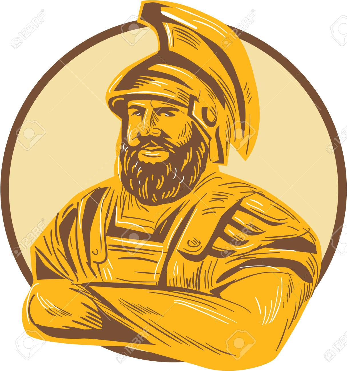1214x1300 Drawing Sketch Style Illustration Of Agamemnon, King Of Mycenae