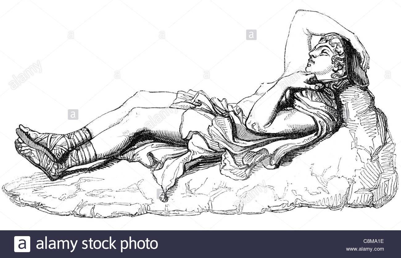 1300x838 Recumbent Figure Of Adonis Lord Greek Mythology God Beauty Desire