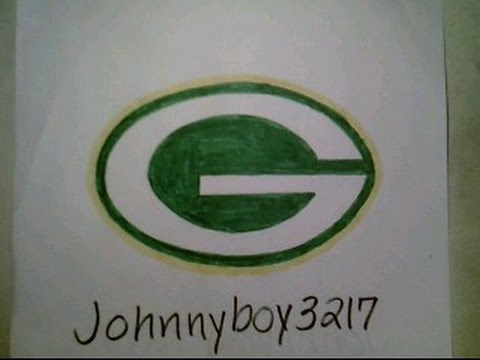 480x360 How To Draw Green Bay Packers Logo Sign Easy Step By Step Tutorial
