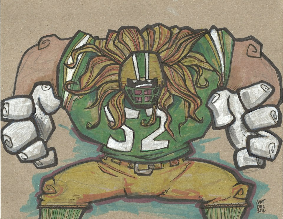 It's just a graphic of Mesmerizing Green Bay Packers Drawing