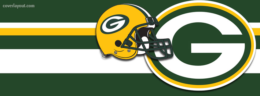 851x315 Green Bay Packers Helmet Logo Facebook Cover, Green Bay Packers