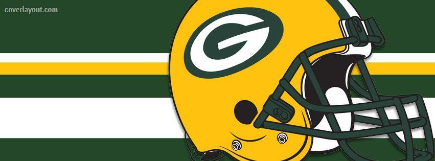 851x315 Helmet Green Bay Packers Facebook Cover Football
