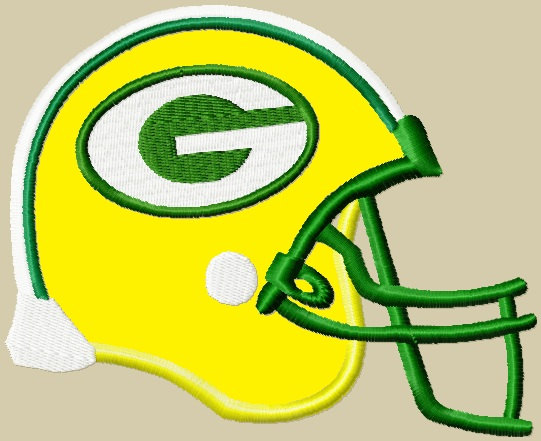 541x441 Items Similar To Greenbay Packers Helmet Logo Applique Embroidery