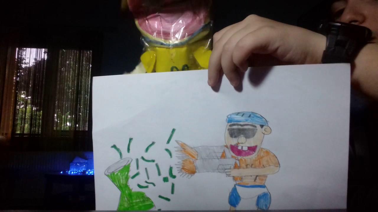 1280x720 Ma Short Jeffy Drawing Kill Green Beans