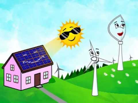 480x360 Clean Green Energy Cartoon