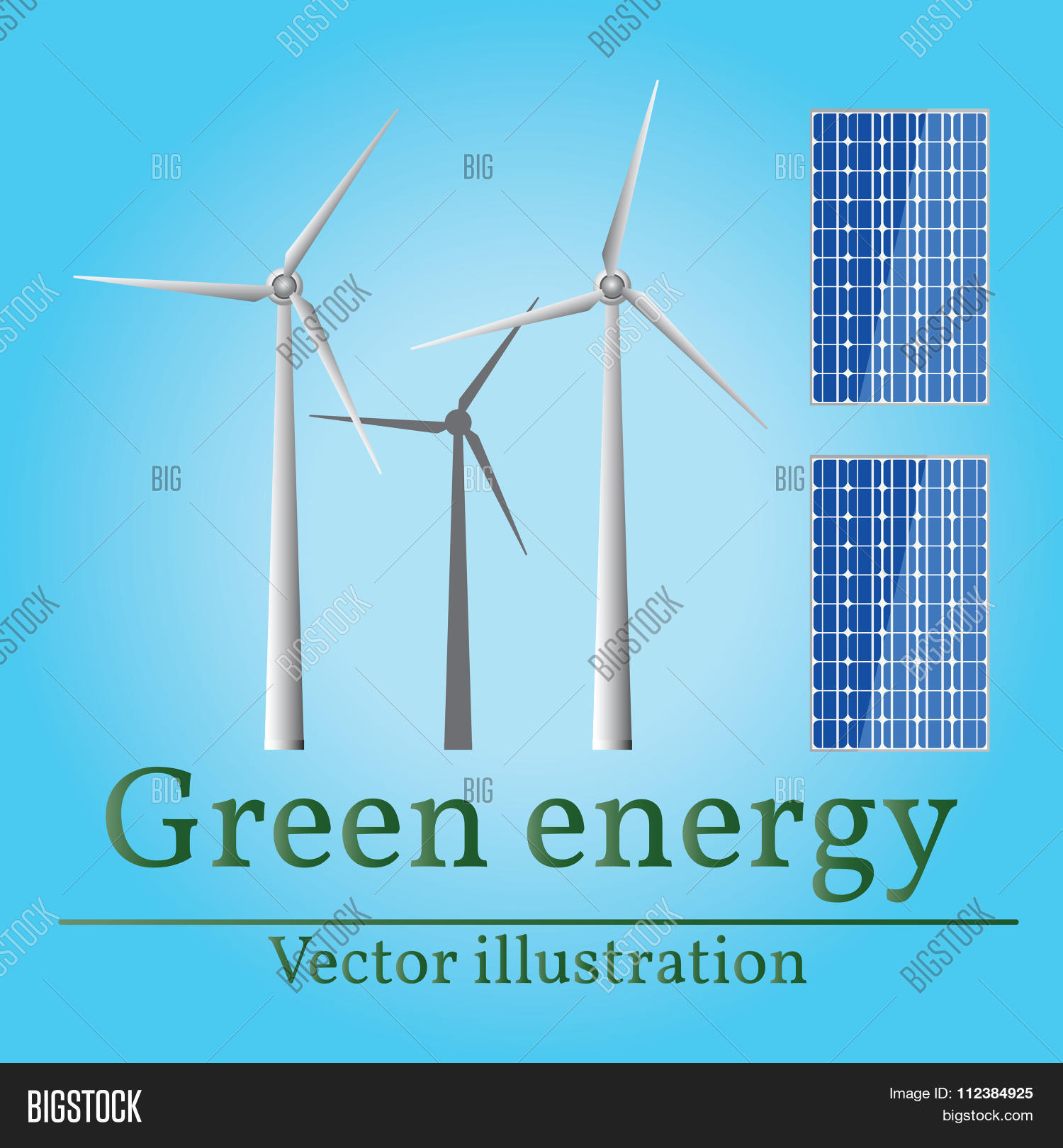 1500x1620 Eco Energy. Green Energy. Wind Vector Amp Photo Bigstock
