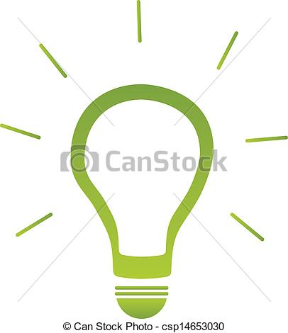 406x470 Green Energy Light Bulb Vector Vectors