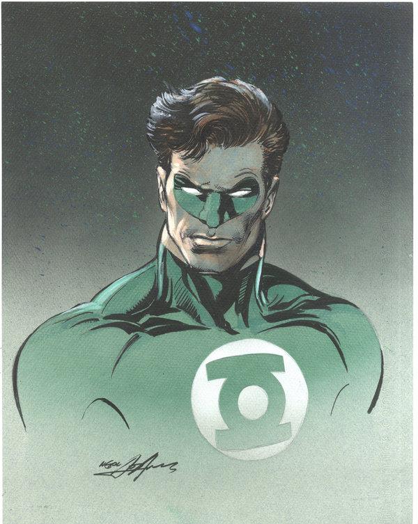 600x753 Green Lantern Drawing By Nealadams
