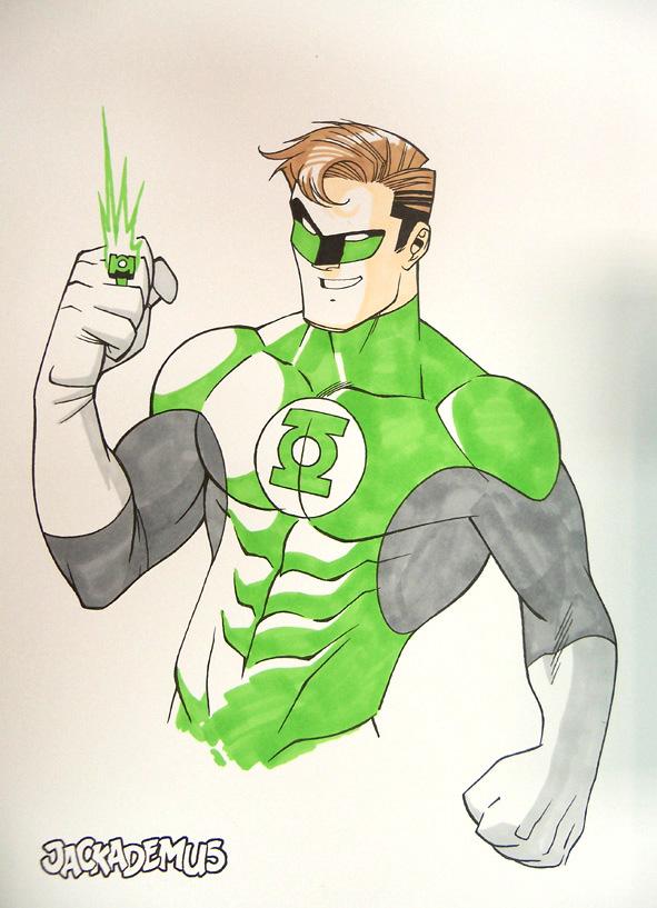 591x817 Green Lantern Sketch By Jackademus