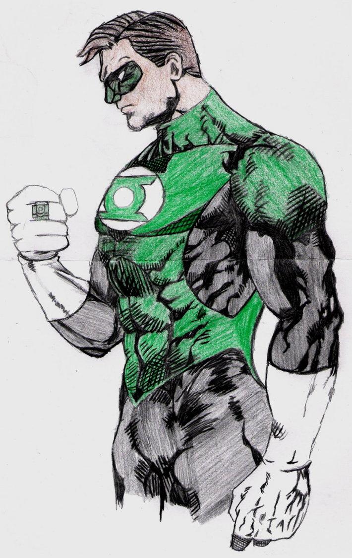 710x1124 Green Lantern By Lordtator