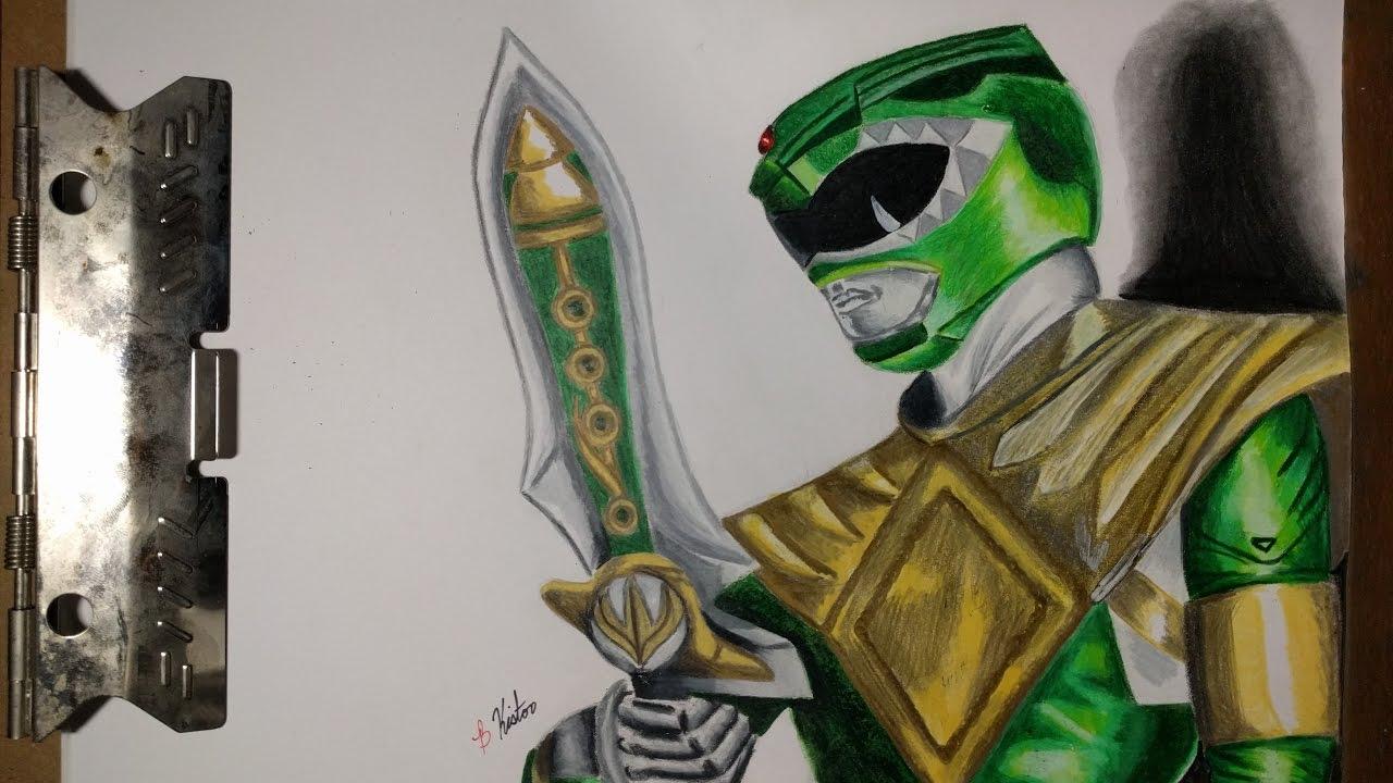 1280x720 Green Power Ranger (How To Draw The Green Power Ranger) 3d Art