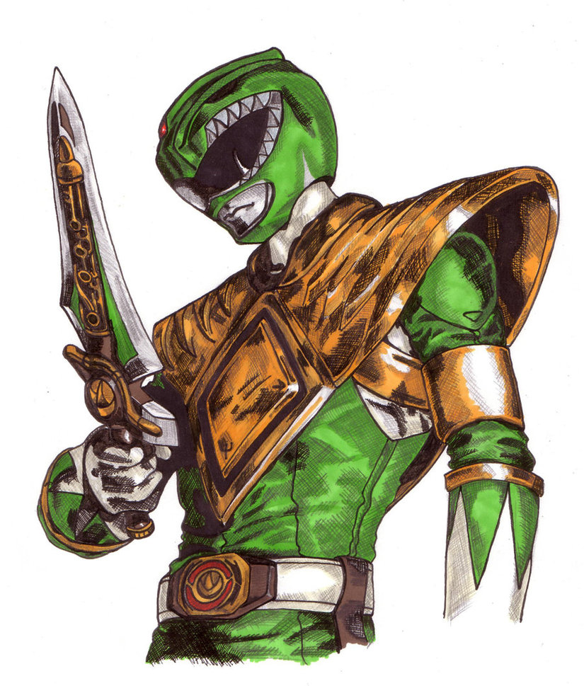 825x969 Green Ranger 2 By Thestickibear