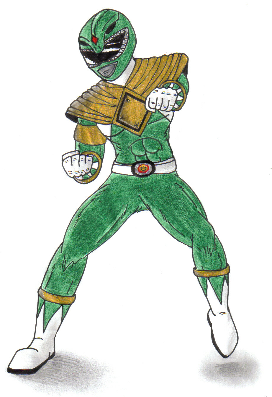 922x1343 Green Ranger Tommy By Doomwing