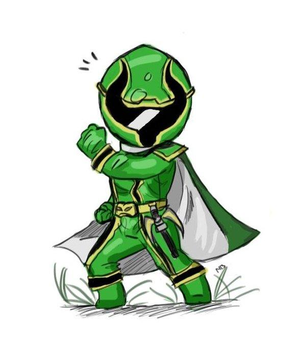 600x698 Mystic Force Green Power Ranger By Zetsumeininja
