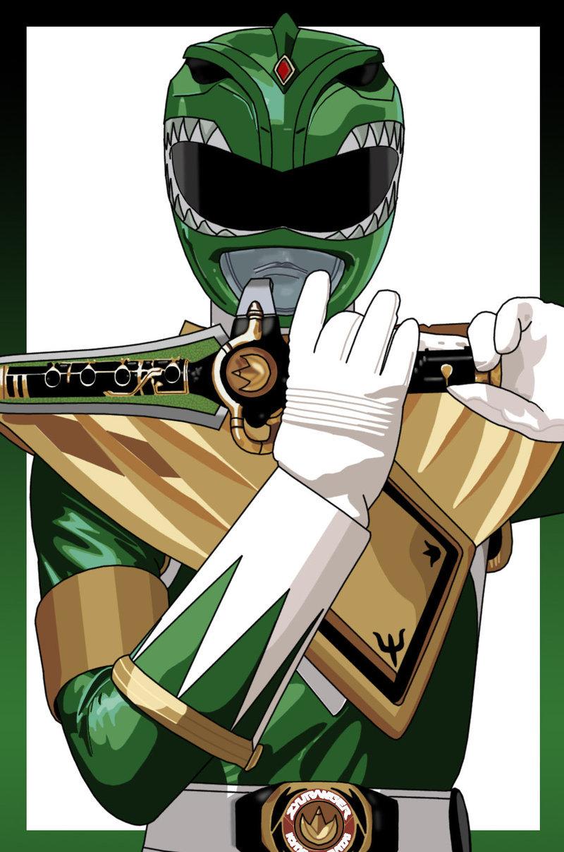 800x1207 The Green Ranger By Brentjago