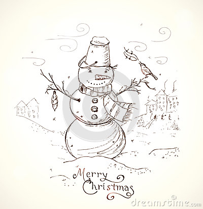 400x413 Christmas Drawings For Cards