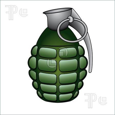 450x450 Hand Grenade Drawing Illustration Of Green Hand Grenade Trad