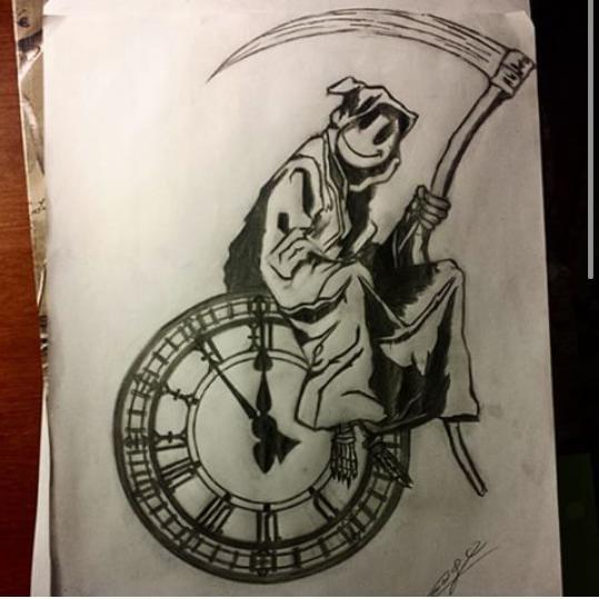 539x539 Cesar Golindano On Twitter Grim Reaper Clock's Ticking