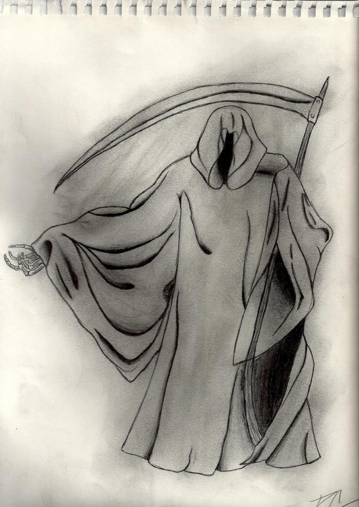 Grim reaper pencil drawing at getdrawings free for personal 725x1024 grim reaper drawing grim reaper drawing pedrorabidbunny on voltagebd Images