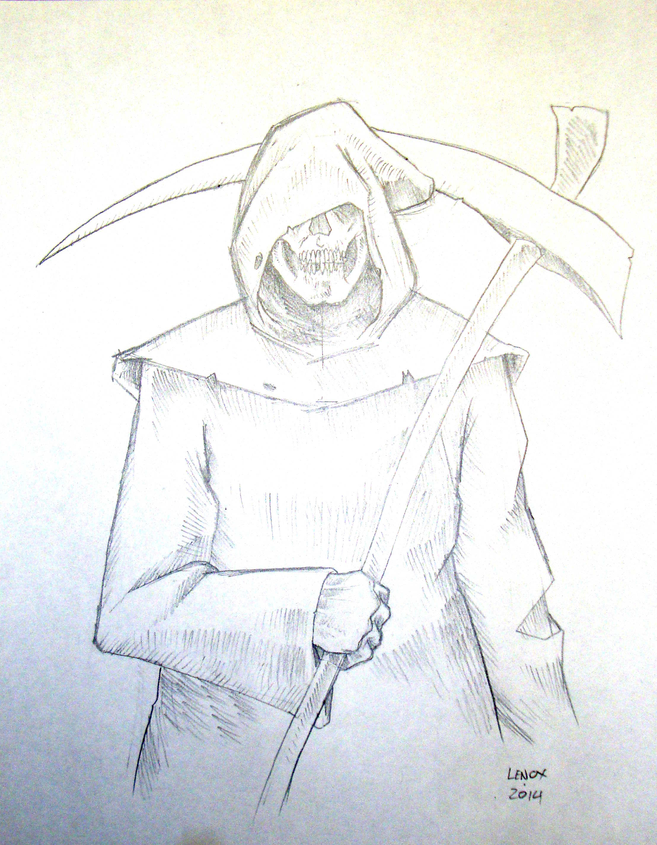grim reaper pencil drawing at getdrawings com free for personal