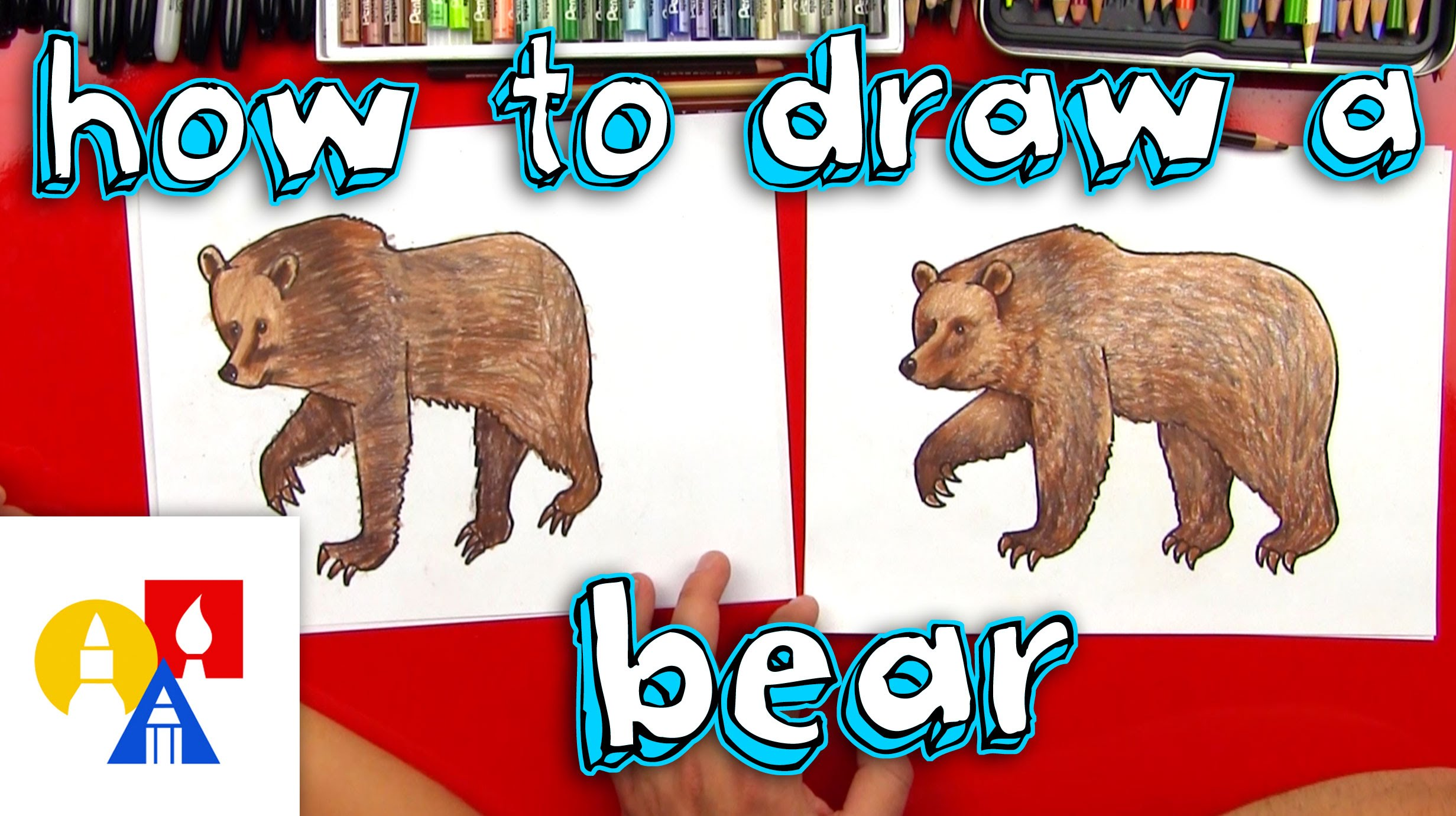 2463x1381 How To Draw A Grizzly Bear (Realistic)