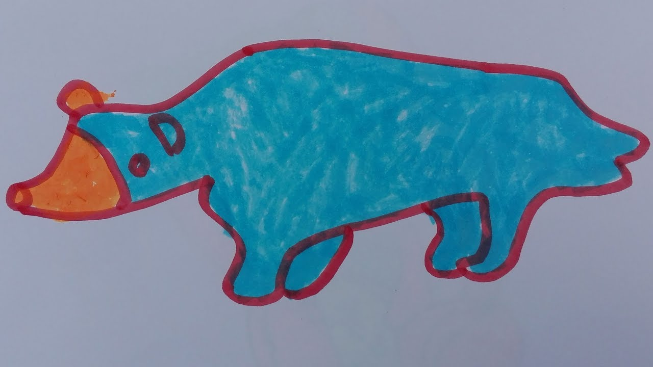1280x720 How To Draw Bear Draw Bear Face Draw Realistic Bear Draw