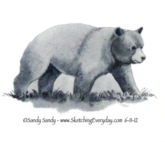 577x497 Drawing Everyday Lions, Tigers And Bears, Oh My!