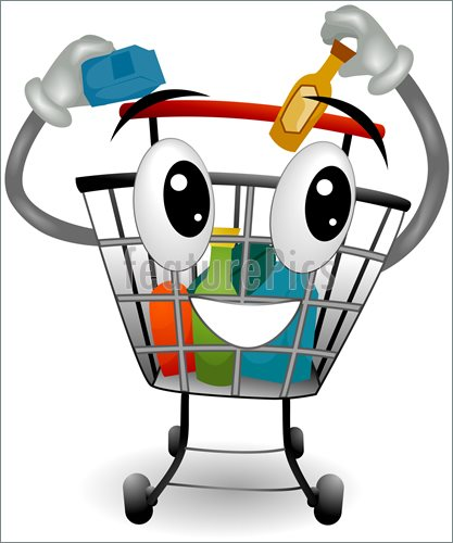 417x500 Shopping Trolley Eps