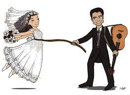 263x191 Znalezione Obrazy Dla Zapytania Bride And Groom Drawing