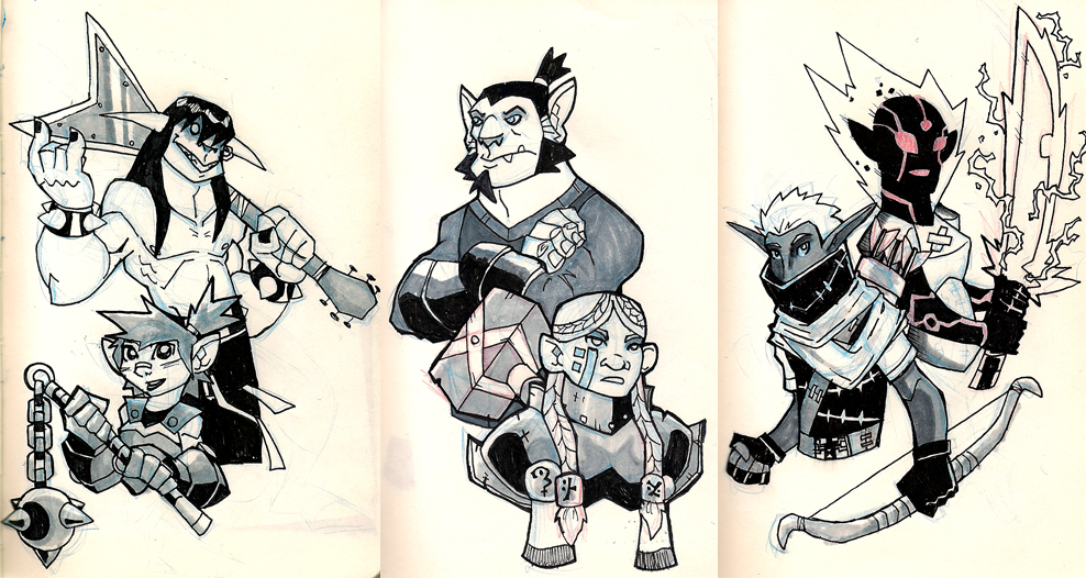 988x526 Moleskine Dungeons And Dragons Group 1 By Chief Orc