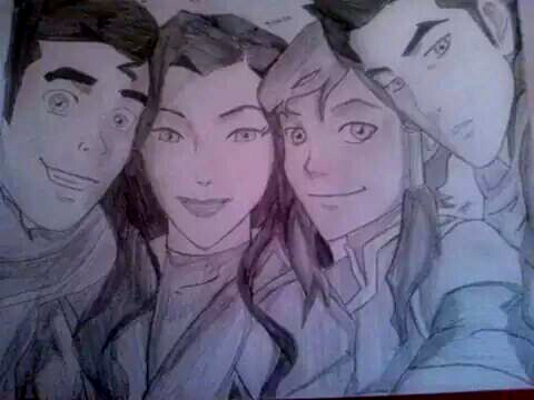 480x360 Team Avatar Group Drawing By Tiger Lace