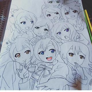 320x320 Wanna Some More Postes Charakter Love Live Group Animemanga