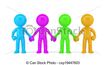 450x277 Group Of People Holding Hands Clipart