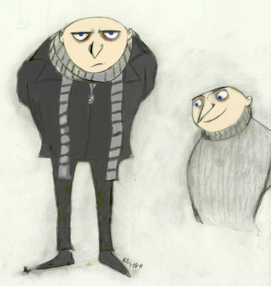 Gru drawing at getdrawings free for personal use gru drawing 869x919 despicable me altavistaventures Images