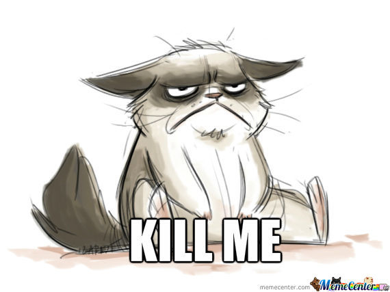 570x427 Grumpy Cat Drawing By Santicapo