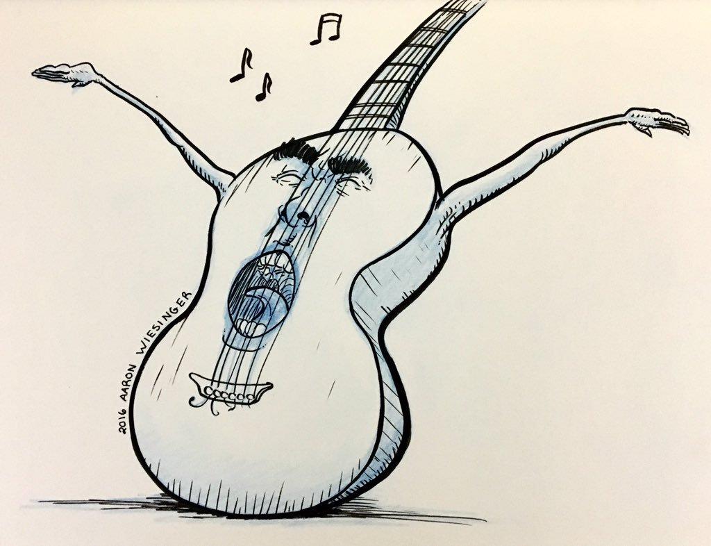 1024x786 Aaron Wiesinger On Twitter Muk Muk's Guitar