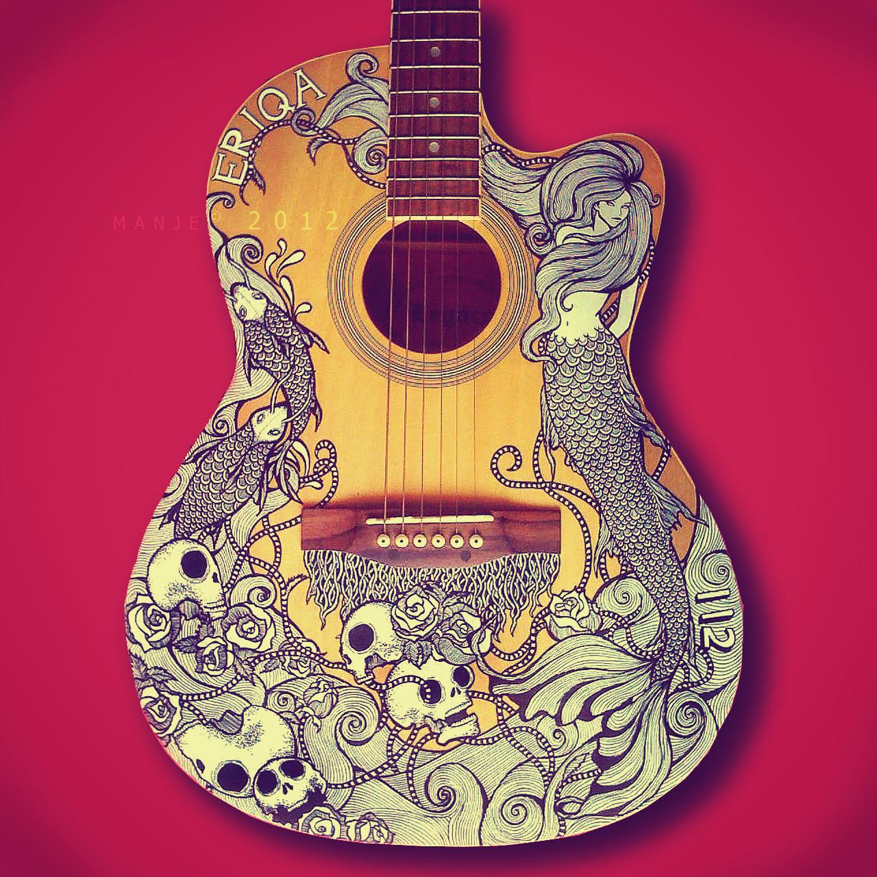 1280x1280 Guitar Art
