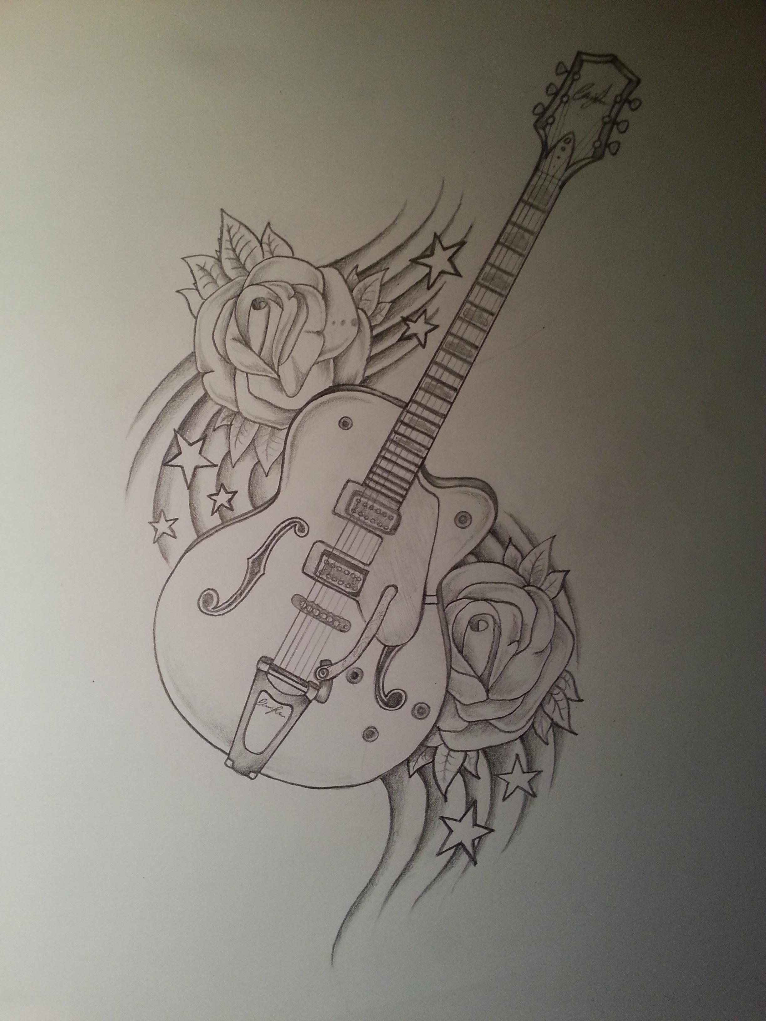 2448x3264 Guitar Drawing Drawings Guitar Drawing, Guitars