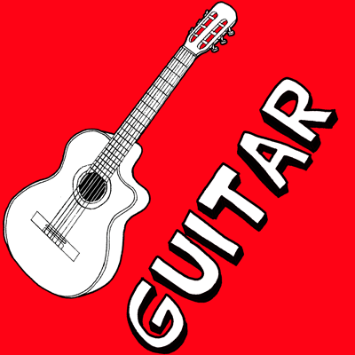 400x400 How To Draw A Guitar With Easy Step By Step Drawing Tutorial