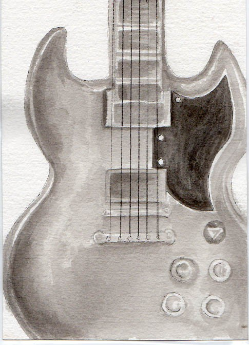 485x672 drawing in pencil electric guitars picture gallery the best