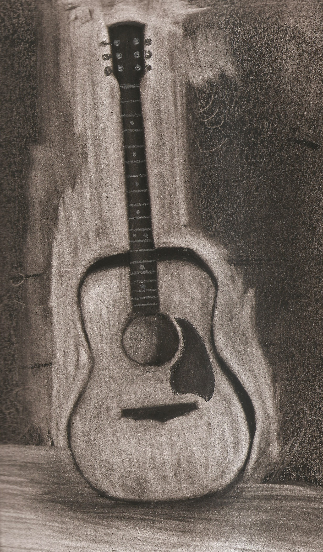 Guitar Pencil Drawing At Getdrawings Com Free For Personal Use